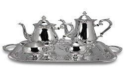 servizio in argento da tè. Italia oro compro oro e argento