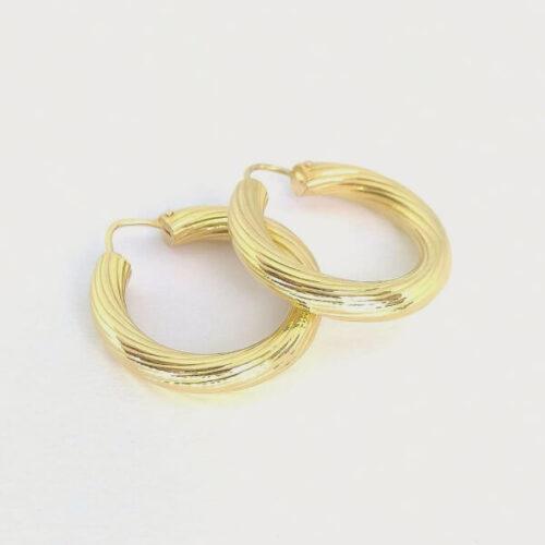 orecchini cerchi osimo