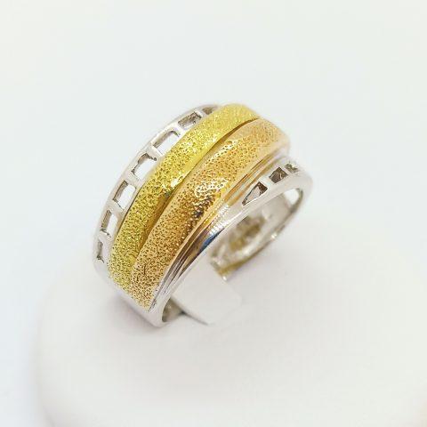 anello fascia oro tricolore jesi 2