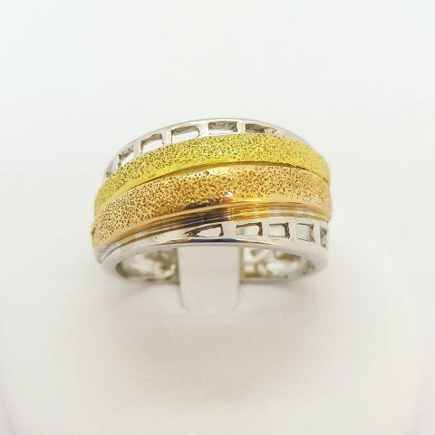anello fascia oro tricolore jesi