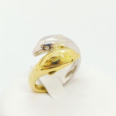 anello oro delfini contrarie jesi 2