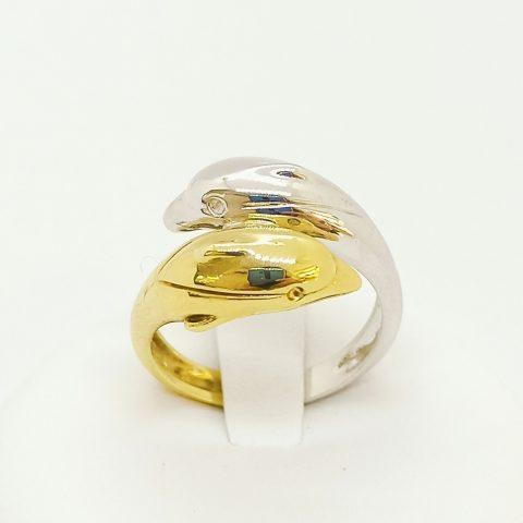 anello oro delfini contrarie jesi