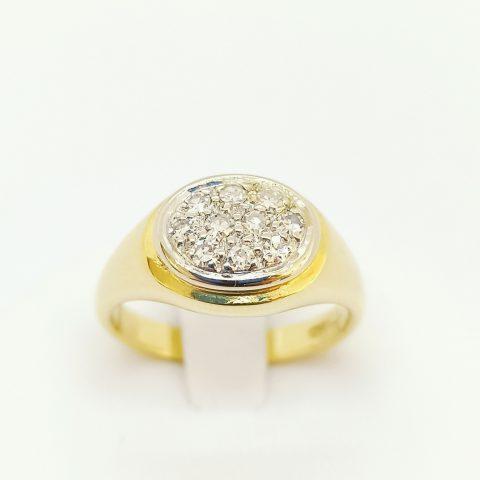 anello oro diamanti jesi