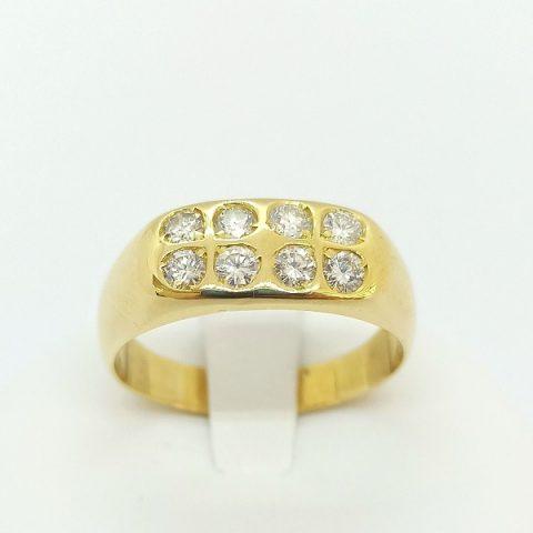 anello oro diamanti quadrifogli jesi