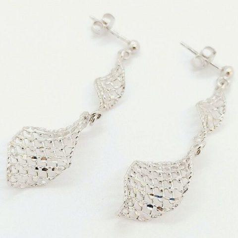 orecchini oro bianco pendenti jesi 2