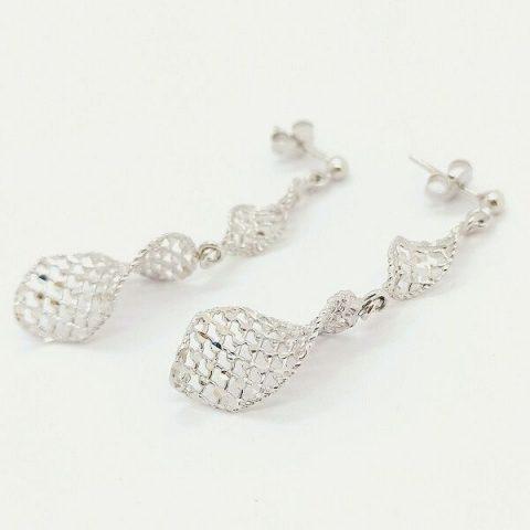 orecchini oro bianco pendenti jesi 3
